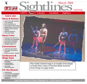 2004 Sightlines Newsletter