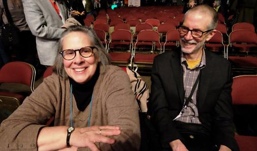 David Rodger and Deborah Hazlett